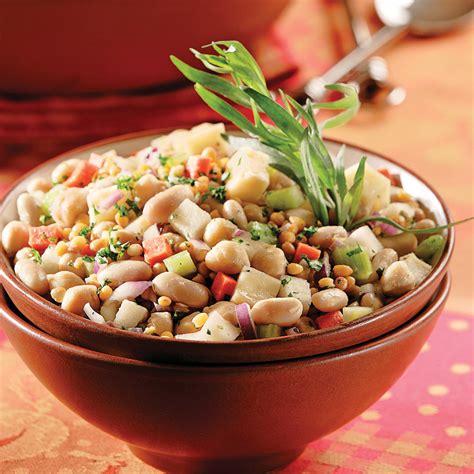 salade de l 233 gumineuses aux haricots blancs recettes