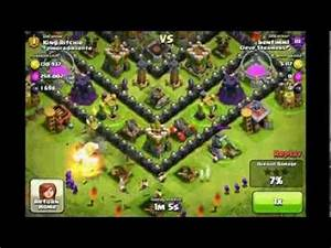 Clash of Clans - Level 8 Mortar Gameplay - YouTube