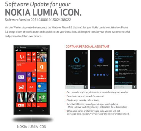update verizon phone verizon ready to launch windows phone 8 1 update 1 for