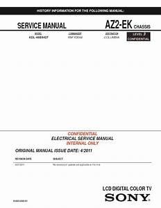 Sony Kdl-46bx427 Service Manual