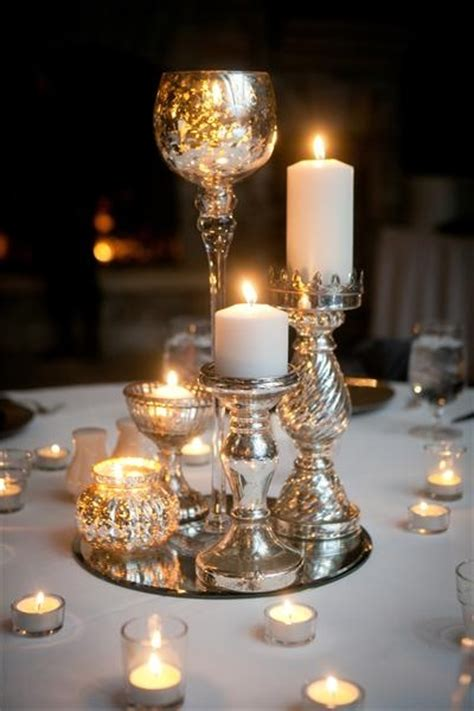 table decorations candles best 20 candle centerpieces ideas on