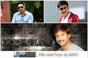 T Gopichand All Movies Hits and Flops Box Office ...