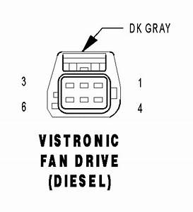 I Also Need The Wiring Diagram Of The Viscous Fan Drive