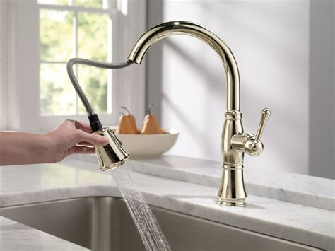 Polished Nickel Kitchen Faucet