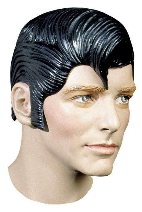 adult mens elvis presley flash rubber costume wig elvis