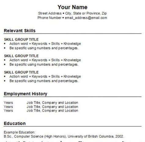 how to build a job resumes how to do a resume for a job for free