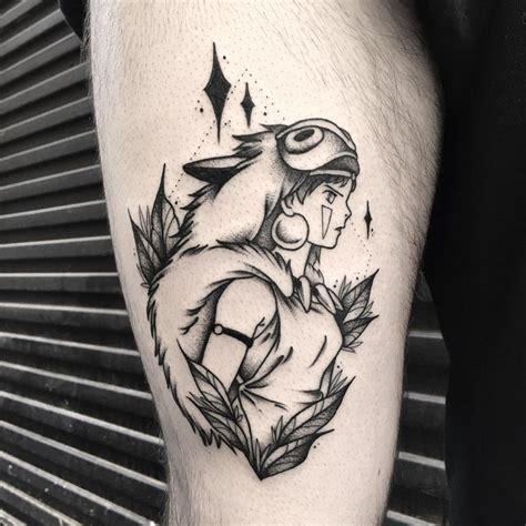 The 25+ Best Princess Mononoke Tattoo Ideas On Pinterest