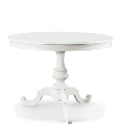 tavolo rotondo bianco allungabile tavolo tondo allungabile