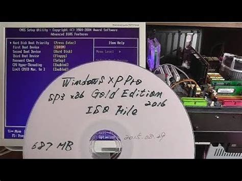 installation of the windows xp pro sp3 gold edition 2016 youtube
