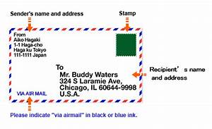 how to write the address and name japan post With how to send a shipping label