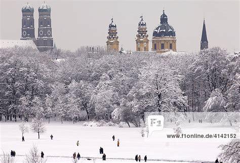 Englischer Garten In Winter by Englischer Garten Im Winter M 252 Nchen Bayern Deutschland
