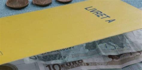 montant du plafond du livret a le plafond du livret a sera relev 233 de 25 au 1er janvier challenges fr
