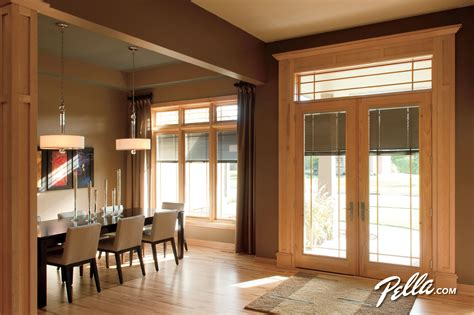 complement  pella designer series casement windows