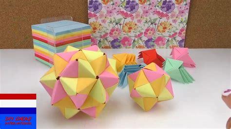 bloemen 3d dikke verf you tube origamister stap voor stap origamihandleiding 3d ster