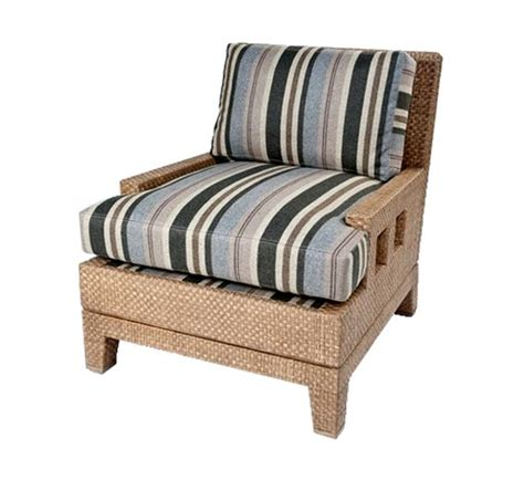 aperture lounge chair wicker material indoor