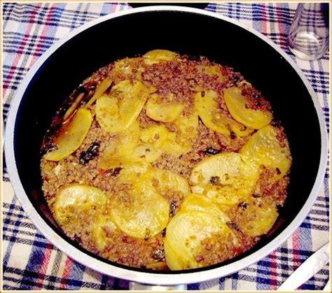 recettes de cuisine turque moussaka de pomme de terre du sel dans ma cuisine