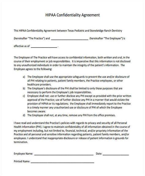 hipaa  disclosure agreement template tridentknightscom