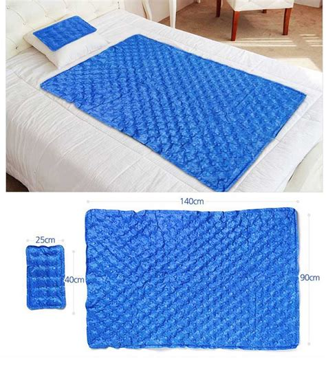 cooling gel mattress topper hanil cool gel mattress bed pad cooling topper waterdrop 1