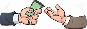 Hand Giving Money Clipart (10+)