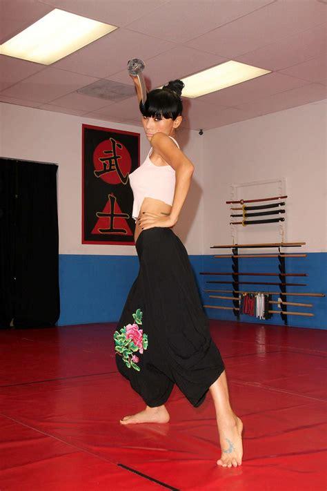 martial arts training ling bai gotceleb