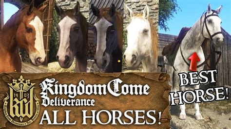 kingdom come deliverance horses stats
