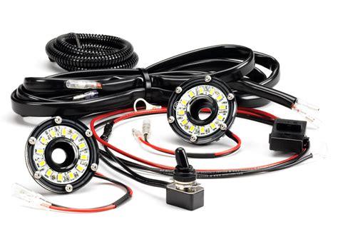 led video light kit kc hilites dual cyclone led universal under hood lighting kit