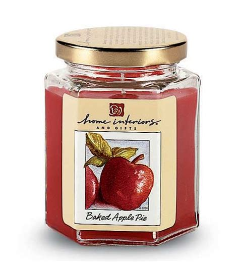 home interiors baked apple pie candle candles in all sizes