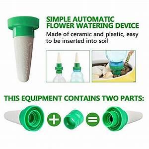 Distributeur D Eau Pour Plante : arrosage plante automatique les meilleurs produits pour 2019 mon arrosage de jardin ~ Dode.kayakingforconservation.com Idées de Décoration