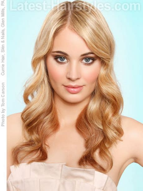 loose curly hairstyles for long hair