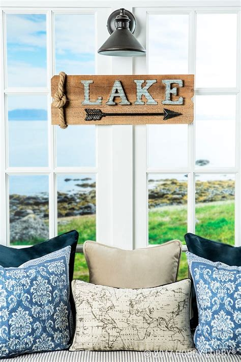 channel summertime vibes  lake themed decor summer