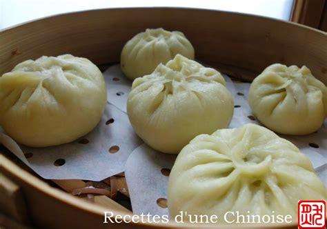 cuisine chinoise vapeur recettes d 39 une chinoise baozi petit fourré à la