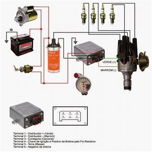 Resultado De Imagem Para Esquema Eletrico Da Igni U00e7ao Eletronica Do Santana  85