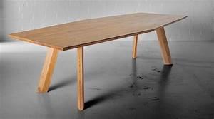 Designer Esstisch Holz : raffinierter designer esstisch aus massivholz von vitamin design ~ Markanthonyermac.com Haus und Dekorationen