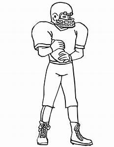 Football Player Cartoon - Cliparts.co