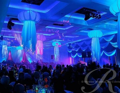 Underwater Themed Events  Party  Under The Ocean