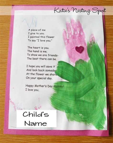 preschool mothers day 8 best images of printable s day poems preschool 565