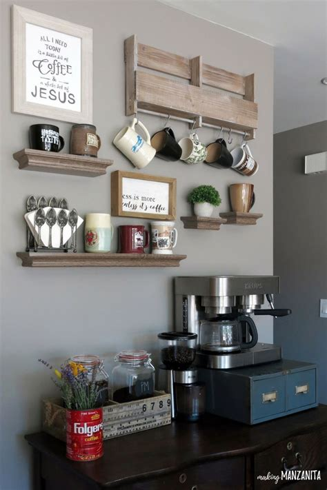 If you search my feed, you'll find #jesusisacoffeelover. How to Create a DIY Coffee Station at Home - Making ...