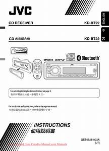 Jvc Kd-bt22 User Guide Manual