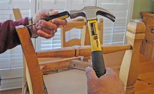 install felt chair leg pads to protect wood floors from scratches