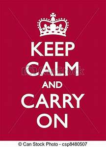 Keep Calm And Carry On Clipart - Clipart Suggest