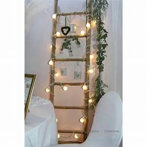 Echelle En Bois Déco : location chelle en bambou d co mariage location deco ~ Dailycaller-alerts.com Idées de Décoration