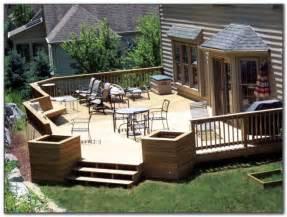 hot tub deck design ideas decks home decorating ideas