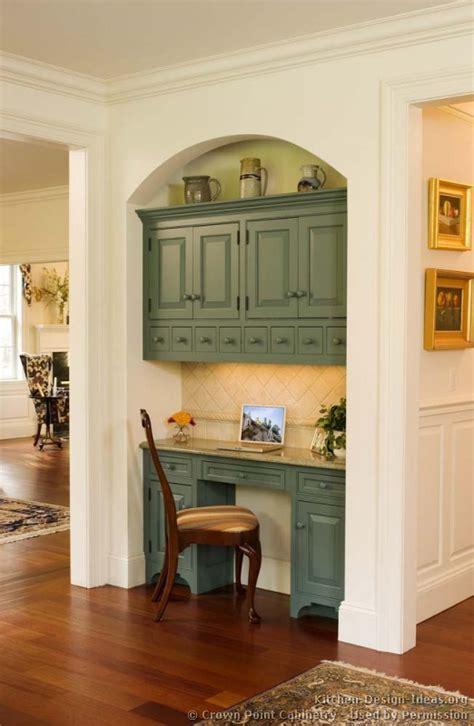 Kitchen Desk Backsplash Ideas by Kitchens Cabinets Design Ideas And Pictures