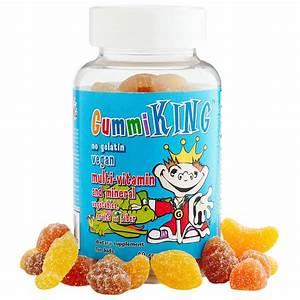 Gummi King, Multi-Vitamin and Mineral, Vegetables, Fruits ...