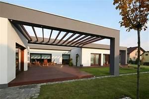Moderne pergola uber 70 modelle zum erstaunen archzinenet for Moderne terrassenüberdachung holz