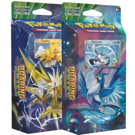 Pokemon Theme Deck Set Of Two  Xy Roaring Skies
