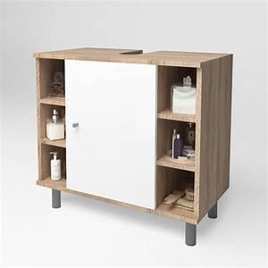 Meuble Salle De Bain Sous Lavabo : meuble sous lavabo armoire de bain meuble sous vasque meuble de salle de bain ~ Teatrodelosmanantiales.com Idées de Décoration