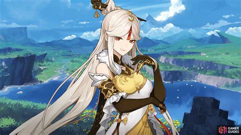 Ningguang Geo Characters Genshin Impact Gamer Guides