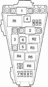 Honda Fit  2006 - 2008  - Fuse Box Diagram