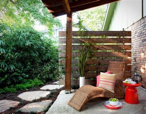 Diy Sichtschutz Für Die Terrasseholzparavent Und